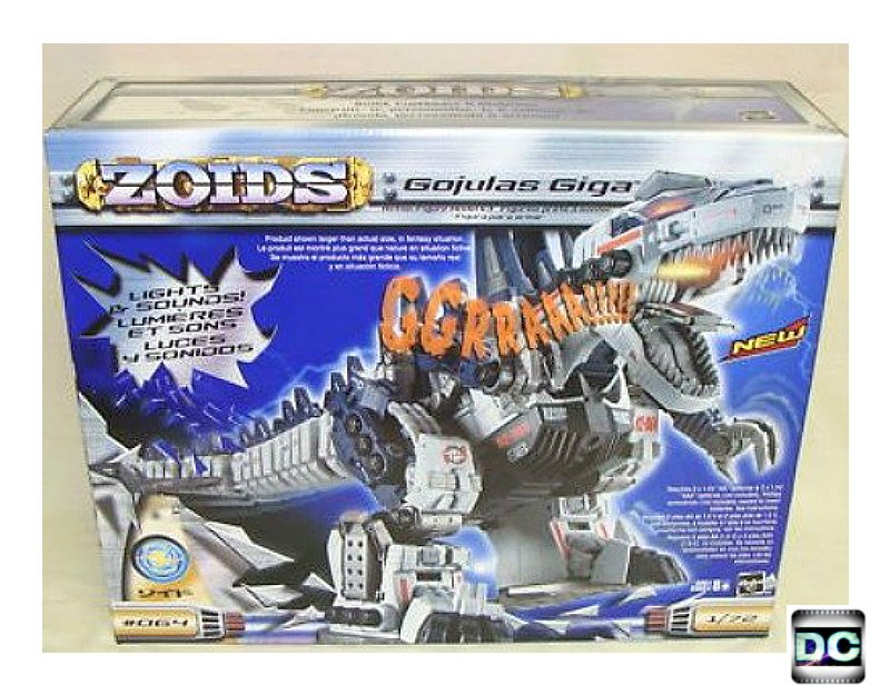 Zoids 064: Gojulas Giga 1/72 Model Kit Electronic Robot - Vintage Toy Mecha Godzilla T-Rex