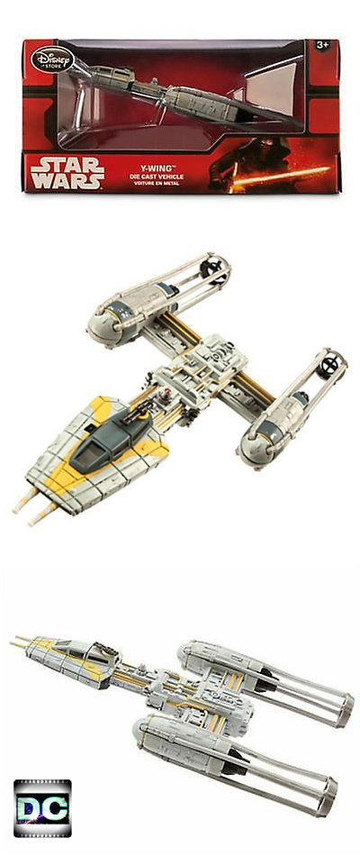 Disney Store Star Wars: A New Hope Y-Wing Diecast Metal Vehicle The Force Awakens