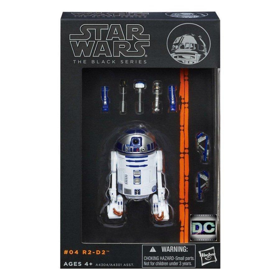 Star Wars A4304 Black Series #04 R2-D2 Astromech Droid-ANH (Orange) 2013 Hasbro 6 inch
