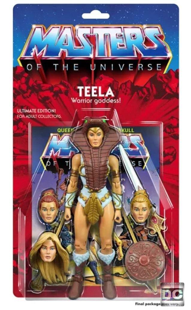 "Super7 Masters of the Universe Classics Ultimate He-Man MOTU Teela Mattel MOTUC 7"" Action Figure"
