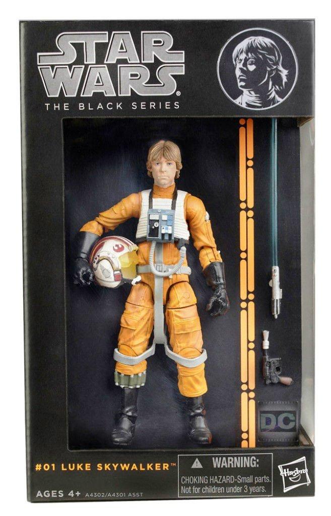 Star Wars A4302 Black Series Luke X-Wing Pilot #01 Pre 40th Celebration 2013 Hasbro 6 inch