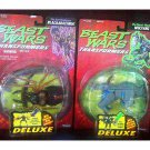 Beast Wars Transformers Deluxe 2-pc Figure Set MOC, Original Hasbro Kenner 1996 MOSC