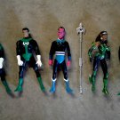 Green Lantern Corps DC Direct Figure Set + Power Battery DCU JLA Fatality, Hal Jordan, Sinestro