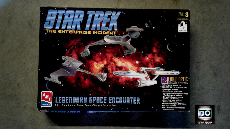 Amt Star Trek Fiber-Optic Model Kit > Starship Enterprise NCC-1701 + Klingon Cruisers [Light/Sound]