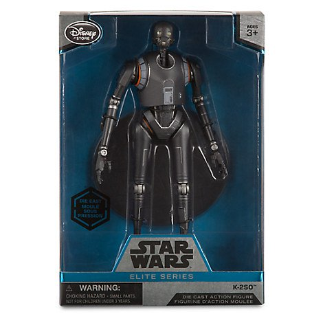 Star Wars K-2SO Elite Series Diecast [Action Figure], Disney Store Exclusive (Rogue One)