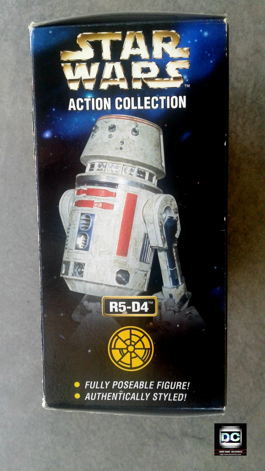 """R5-D4 Droid 1/6 Scale (Star Wars: ANH) 12"""" Jumbo Action Figure POTF2 1998"""