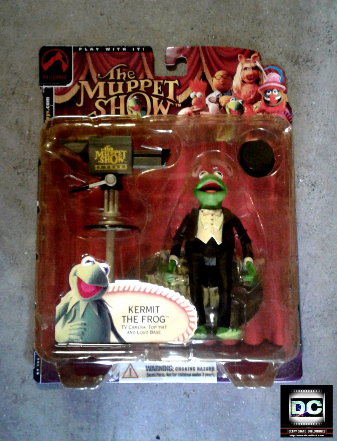 Muppets Palisades Exclusive Kermit the Frog Series 1 Tuxedo Figure - Jim Henson 25th Anniversary