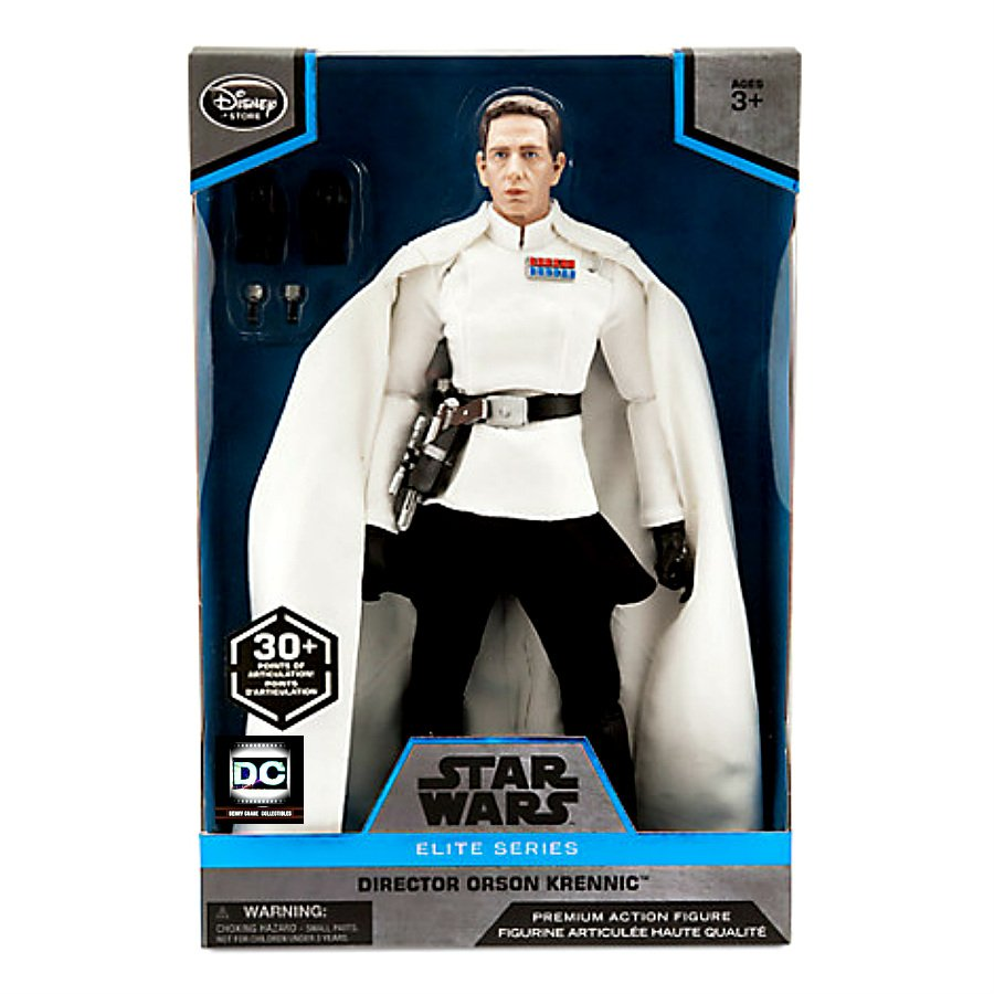 Disney Store Star Wars Elite Series Director Krennic Premium Action Figure (Rogue One) 2016