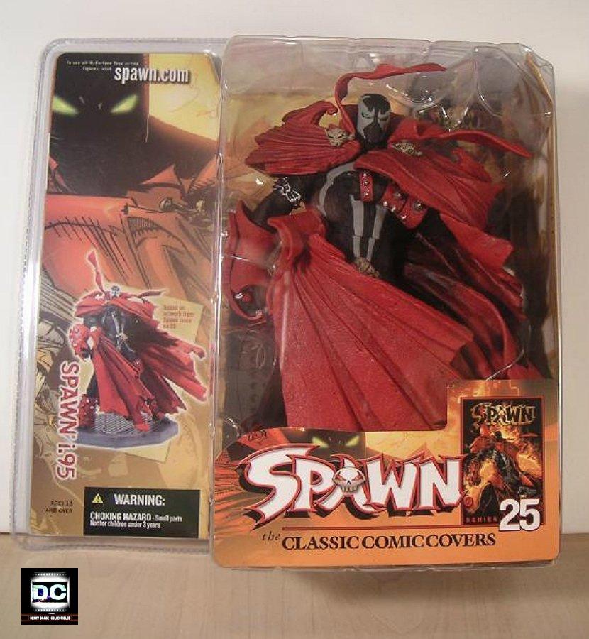 McFarlane Toys Series 25: Spawn 8 Classic Covers i.95 Figure (2004 TMP)