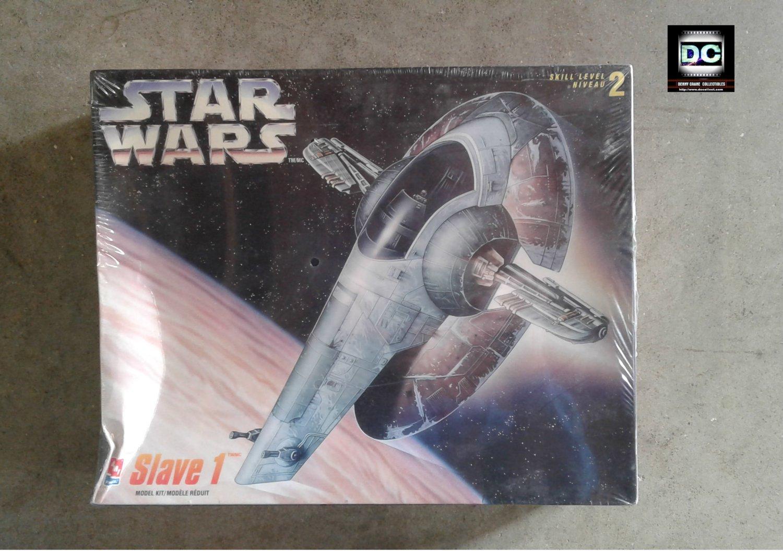 Star Wars Slave I model kit 1:85 Boba Fett + Han Solo Carbonite AMT Ertl 8768 [sealed]