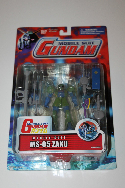 MSIA Mobile Suit Gundam 0079 MS-05 Zaku I Original Limited Action Figure #11545 Bandai MOC (2001)