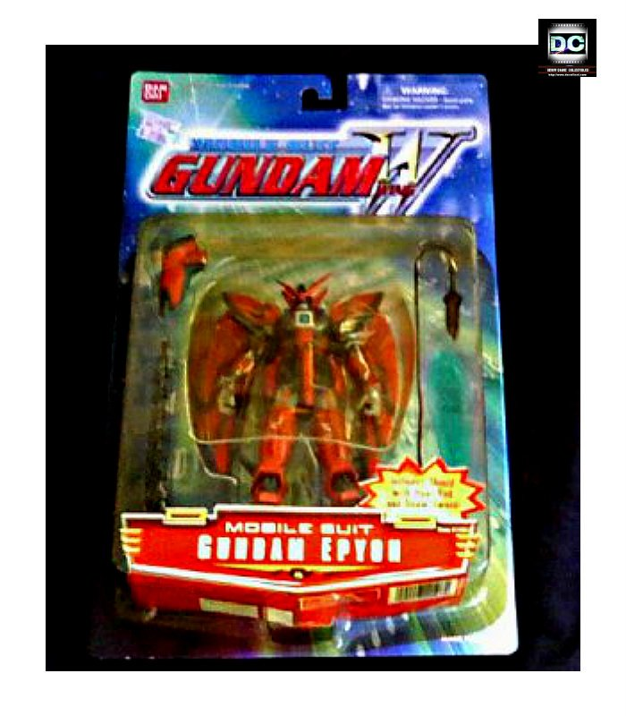 "Wing Gundam-W > Epyon MSIA 4.5"" Limited [Gold] Bandai Action Figure #11507"