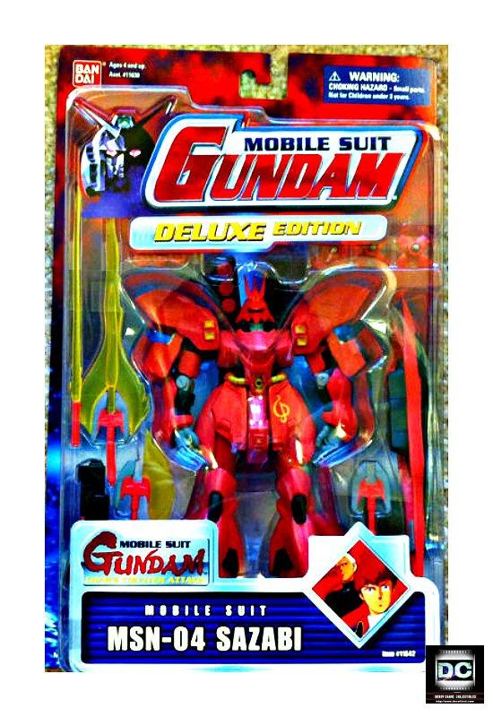 "Sazabi Msn-04 Msia Action Figure 4.5"" Bandai Mobile Suit #11642 [Char's]"
