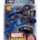 "Marvel Legends Fantastic Four: Mr. Fantastic Reed Richards 6"" Figure + Fantasticar 2003 Toybiz"