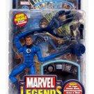 """Mr Fantastic (Four/4) Marvel Legends 6"""" Figure 70388 Toy Biz Reed Richards + Fantasticar & Comic"""