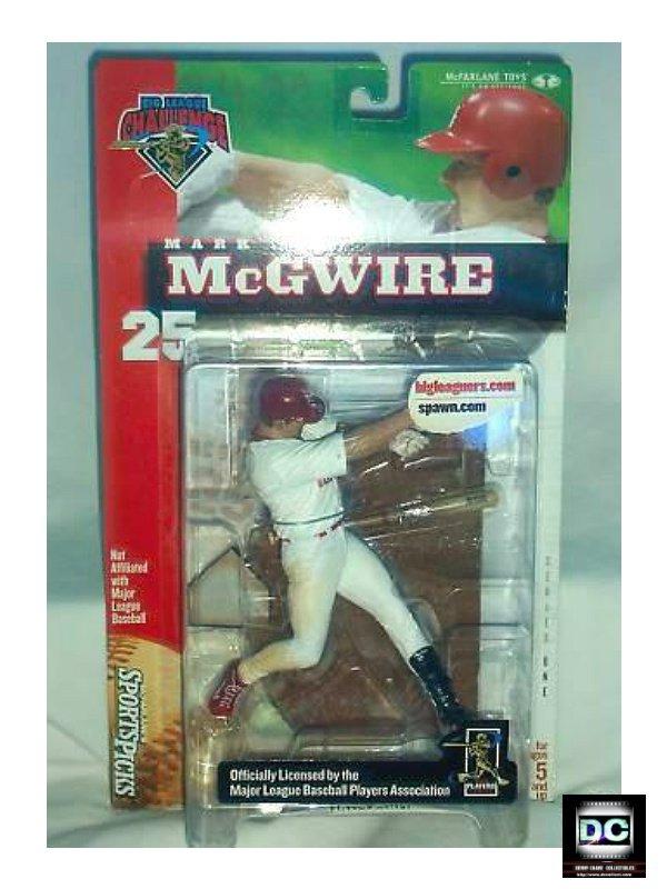 Mark McGwire Mlb McFarlane Sports #25 Cardinals [Baseball Figurine]