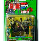 Beachhead vs Cobra Sand Viper GI Joe Comic 2 Pack 2003 Hasbro Spy Troops 57420