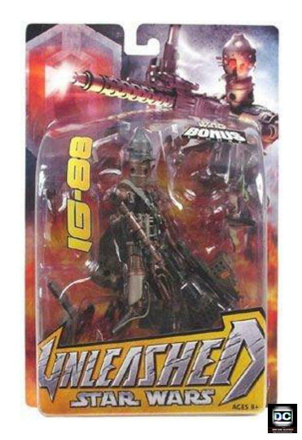 IG-88 Unleashed Star Wars Saga 2005 ESB Bounty Hunter 1/10 statue [ArtFX] droid + WotC Miniature