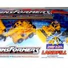 """Transformers G2 Devastator Constructicon Combiner Giftset """"Landfill"""" (1992 Version) RID Build King"""