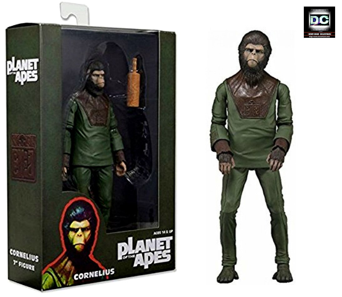 Planet of the Apes (1968): Cornelius 7-In Action Figure NECA Reel Toys 2014 PotA Classic Series 1