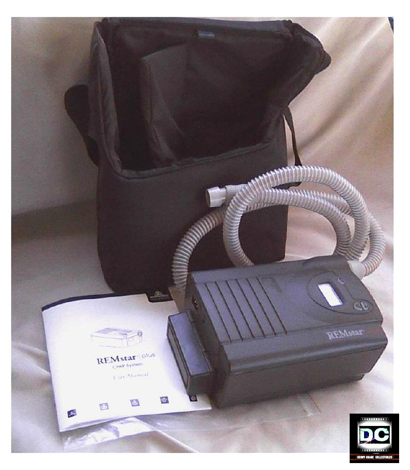 Philips Respironics CPAP Sleep Apnea Humidifier System REMstar Plus Bonus Travel Bag, Extras