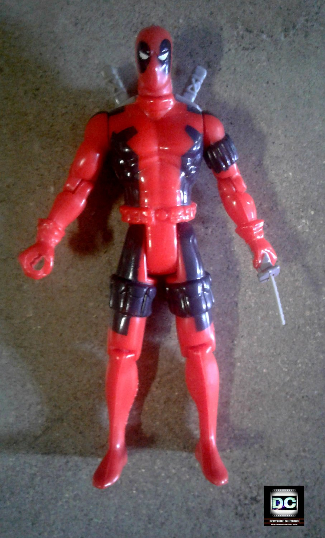 Toybiz Uncanny X-men 1992 Deadpool (1st Release) X-Force Action Figure