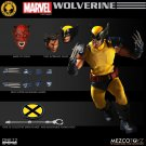 "Mezco Exclusive One: 12 Collective Tiger Stripe Wolverine NYCC Variant Marvel X-Men 6"" Figure"