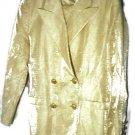 Escada Business Dress Jacket/Blazer Pant Suit - Gold, Sz 42 | Women's Clothing