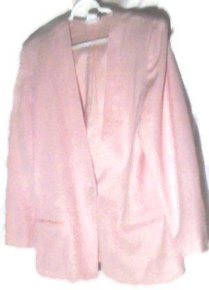 2-Pc Women's Skirt Suit 14-16 (Pink) + Jacket Blazer � Business Clothing