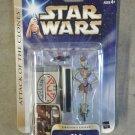 Star Wars Saga 03/28 aotc WA-7 Droid Figure Hasbro 2003 MOC