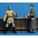 AotC Coruscant Outlander Club Star Wars Saga Cantina Bar Scene Set 2003 - loose complete