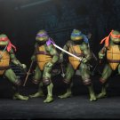TMNT SDCC 2018 NECA Ninja Turtles (1990 Movie) AF Deluxe Box Set