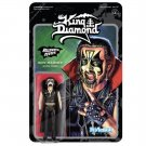 "King Diamond ReAction 3.75"" figure Merciful Fate Super7 Halloween Series [NRD]"