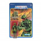 "MOTU PowerCon Kobra Khan Super7 ReAction He-Man 2018 Camo Variant 3.75"" Masters of the Universe"