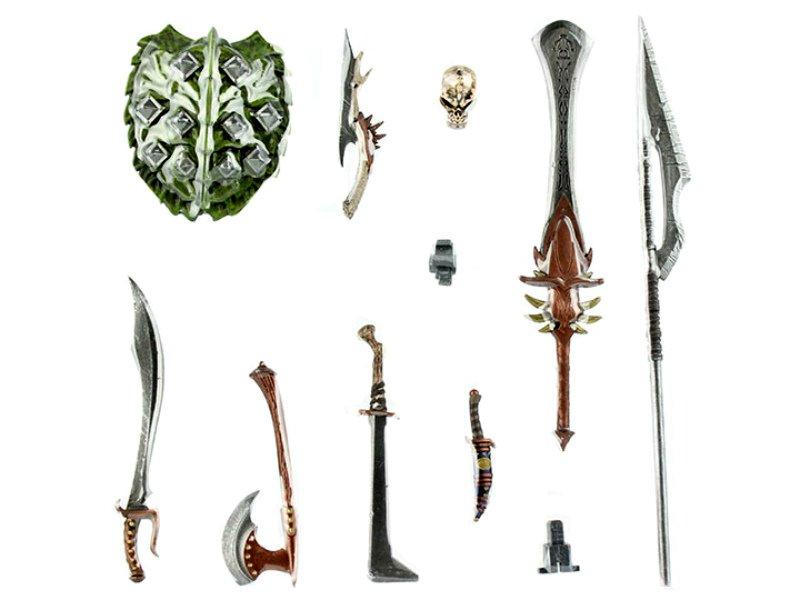 Dark+Forces Weapons Pack Mythic+Legions: AoD Four Horsemen 1/12 Fantasy Kickstarter (motu d&d lotr)