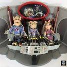 Pigs in Space Figure & Playset Lot Muppets Palisades Piggy, Hogthrob, Strangepork Henson SwineTrek