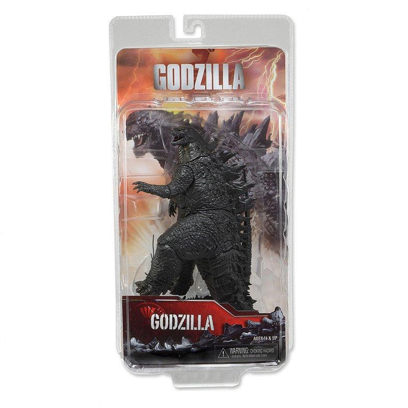 "Godzilla 2014 Movie 12"" Neca Reel Toys Toho 60th Kaiju Monster 7"" Figure (Authentic)"
