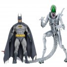 "Batman vs Aliens ""Joker"" Neca NYCC+2019 DC Dark+Horse 7"" Scale 2-Pack Green Lantern Predator Bundle"