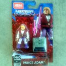 MOTU Prince Adam Mega Construx GNV33 Pro Builders Figure Masters of the Universe
