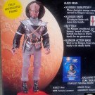 "Klingon Worf 8"" Star+Trek TNG/DS9 Cloth Retro Figure (Mego Remco) 9"" Playmates 1995 Vintage Alien"
