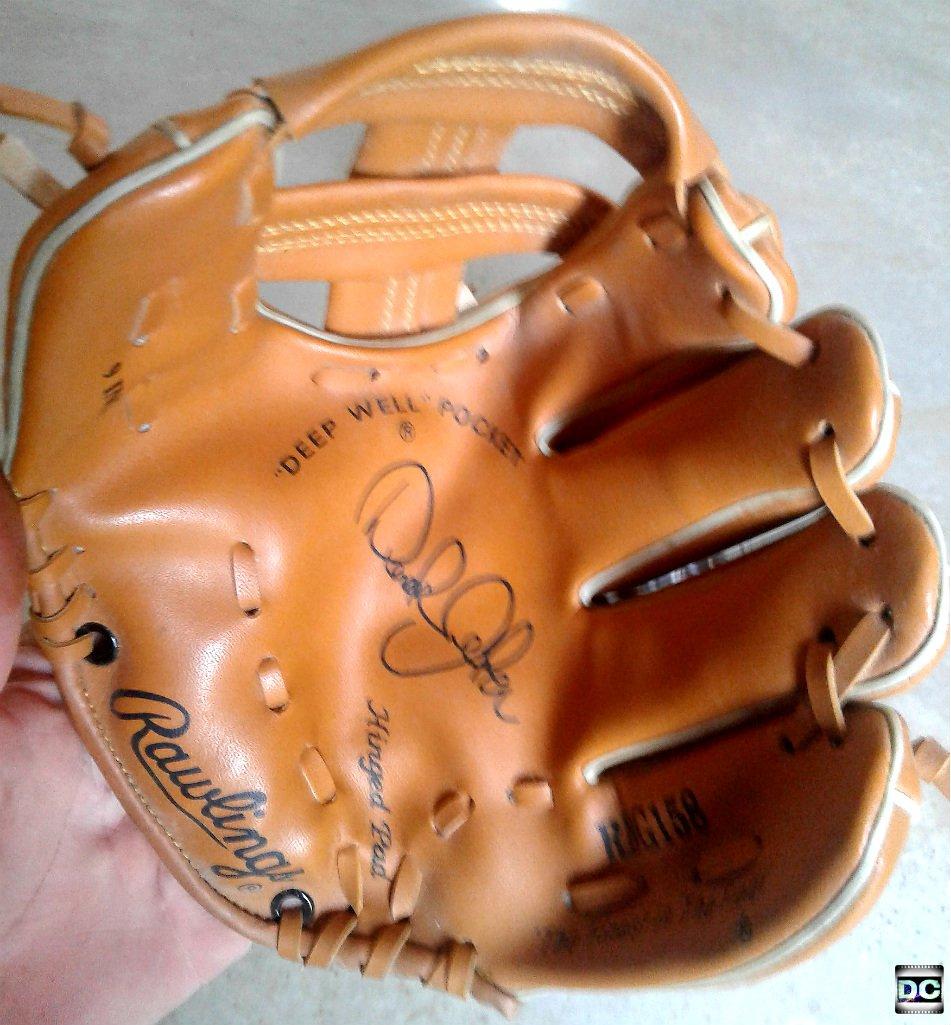 "Rawlings Derek Jeter Signature 9"" Youth RHT Kids' Baseball Softball Glove RBG158 Hinged Pad"