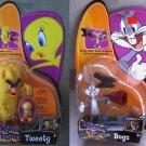 Bugs Bunny/ Tweety Bird & Monster Set Looney Tunes Movie Action Figures Series 2003 Mattel WB