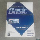 Commodore 128/ 64 8bit Basic Programming Complete Course Personal Computer Software Set Vintage 80s