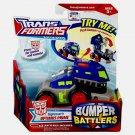 TF: Animated W3 Optimus Prime (Nightwatch) Bumper Battler 2008 Hasbro Transformers [Sealed]