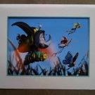 Disney Pixar Bug's Life Art Print Ltd Ed Lithograph 1999 Original Commemorative