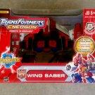2004 Hasbro TF: Energon Wing+Saber Powerlinx Autobot Optimus Prime Mega Class Transformer Combiner