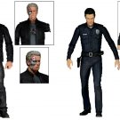 "Terminator Genisys Neca ""Pops"" T-800 Guardian Arnold & T-1000 Police Disguise 7"" Figure Set 2015"