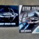 Star+Trek DS9 Space Station Dlx Diecast Model Starship Eaglemoss Special Deep Space Nine