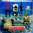 Hoth Survival Accessory Set w/ Rebel Soldier Trooper Dlx Army Builder Star Wars ESB Saga Target 2002