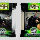 Star Wars 25th Anniversary Set Death Star Escape Han Chewie Final Duel Obi-Wan vs Darth Vader Silver